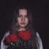 Foto girl in red