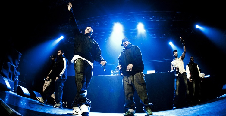 Wu-Tang Clan, Public Enemy en De La Soul Gods of rap tour