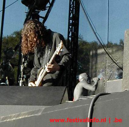 Tool op Ozzfest 2002 foto