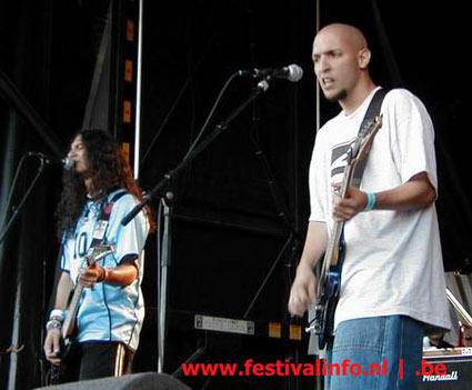 Agresión op Ozzfest 2002 foto