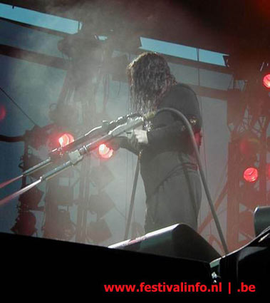 Ozzy Osbourne op Ozzfest 2002 foto