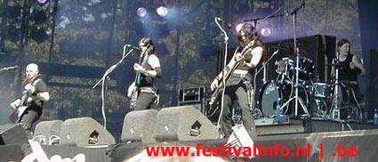 Kittie op Ozzfest 2002 foto