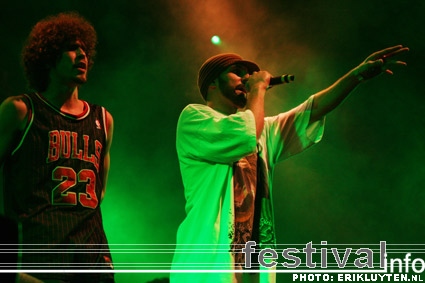 Foto Kyteman's Hiphop Orkest op Paaspop Schijndel 2009