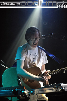 James Yuill op London Calling #1 2009 foto