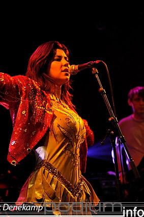 Marina and the Diamonds op London Calling #1 2009 foto