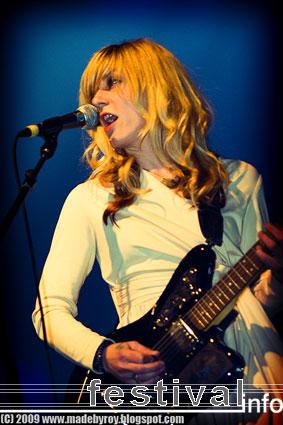 The Von Bondies op Polsslag 2009 foto
