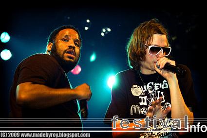 DJ Mehdi op Polsslag 2009 foto
