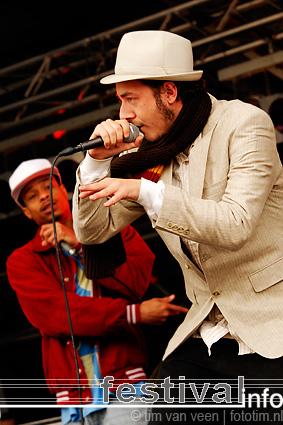 Cartes & Kleine Jay op Bevrijdingsfestival Flevoland 2009 foto