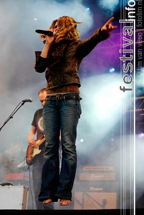 Nikki op Bevrijdingsfestival Flevoland 2009 foto