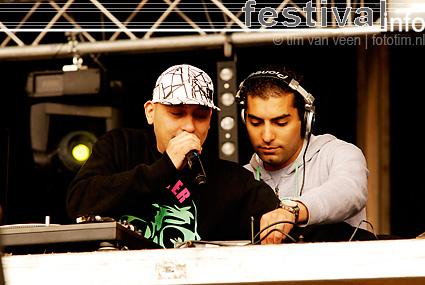 The Partysquad op Bevrijdingsfestival Flevoland 2009 foto