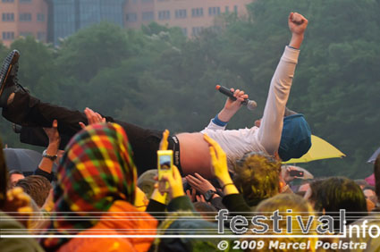 Voicst op Bevrijdingsfestival Groningen 2009 foto