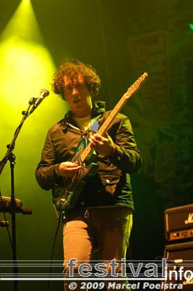 The Wombats op Bevrijdingsfestival Groningen 2009 foto