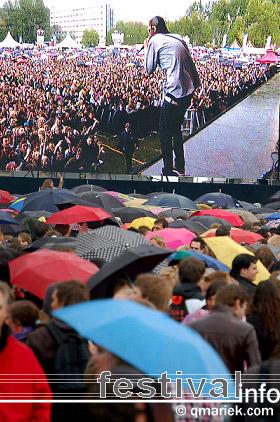 De Jeugd Van Tegenwoordig op Bevrijdingsfestival Overijssel 2009 foto