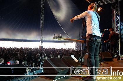 Foto Anti-Flag op Dauwpop 2009