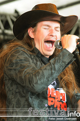 Wild Bill and his Alabama Speed Steamers op Jera on Air 2009 foto