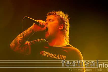 Illdisposed op Neurotic Deathfest 2009 foto