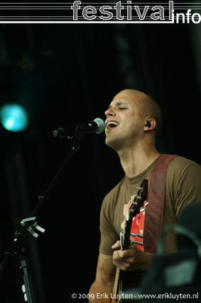 Milow op Pinkpop 2009 foto