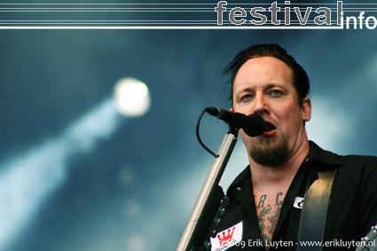 Volbeat op Pinkpop 2009 foto