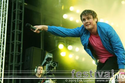 Keane op Pinkpop 2009 foto