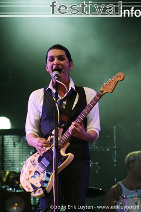 Placebo (UK) op Pinkpop 2009 foto