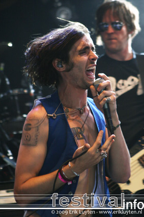All-American Rejects op Pinkpop 2009 foto