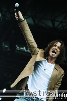 Chris Cornell op Pinkpop 2009 foto