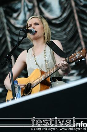 Amy Macdonald op Pinkpop 2009 foto