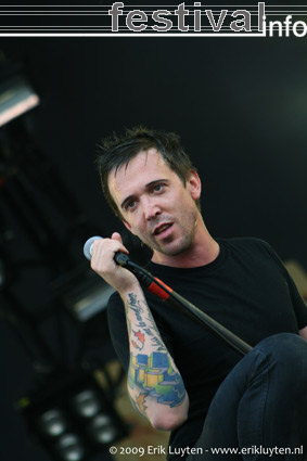 Billy Talent op Pinkpop 2009 foto