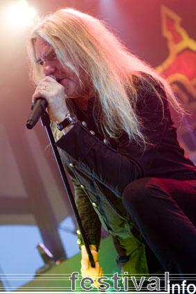 Foto Saxon op Rock Hard 2009