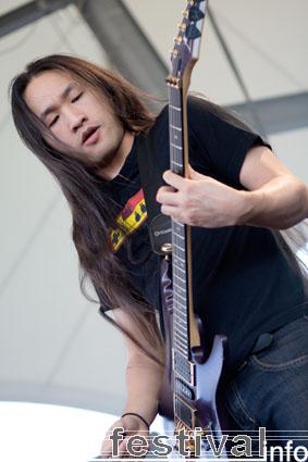 Foto DragonForce op Rock Hard 2009