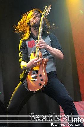 Papa Roach op Rock Am Ring 2009 foto