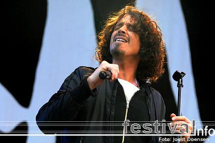 Foto Chris Cornell op Rock Am Ring 2009