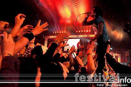 Bring Me The Horizon op Rock Am Ring 2009 foto