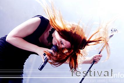 Epica op Wâldrock 2009 foto