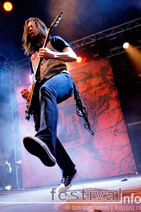 Papa Roach op Wâldrock 2009 foto