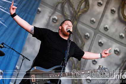 Foto Blind Sight op Wâldrock 2009