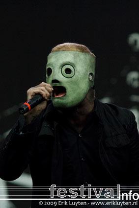 Foto Slipknot op Sonisphere 2009