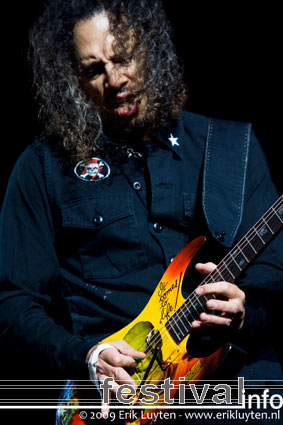 Foto Metallica op Sonisphere 2009
