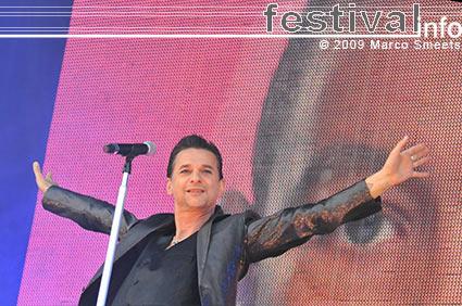 Depeche Mode op TW Classic 2009 foto