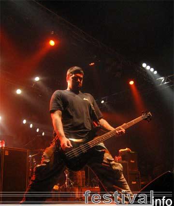 Hatebreed op Groezrock 2005 foto
