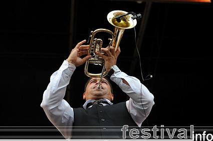 Foto Shantel & Bucovina Club Orkestar op Parkpop 2009
