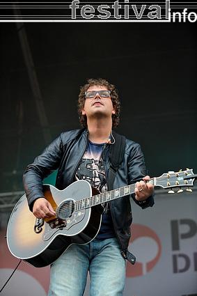 Foto Guus Meeuwis op Parkpop 2009