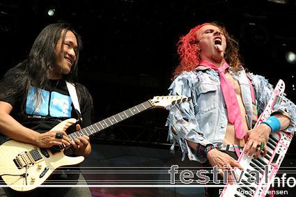 DragonForce op Graspop Metal Meeting 2009 foto