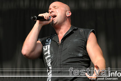 Foto Disturbed op Graspop Metal Meeting 2009