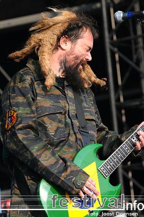Soulfly op Graspop Metal Meeting 2009 foto