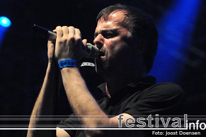 Blind Guardian op Graspop Metal Meeting 2009 foto