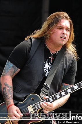 Black Stone Cherry op Graspop Metal Meeting 2009 foto