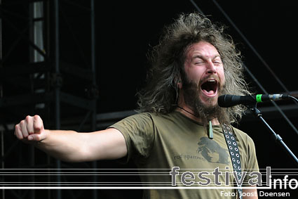Mastodon op Graspop Metal Meeting 2009 foto