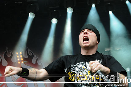 Hatebreed op Graspop Metal Meeting 2009 foto