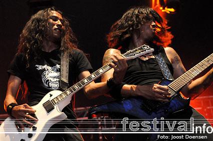 Death Angel op Graspop Metal Meeting 2009 foto